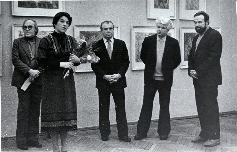 Exhibition of I. Vorob'yova