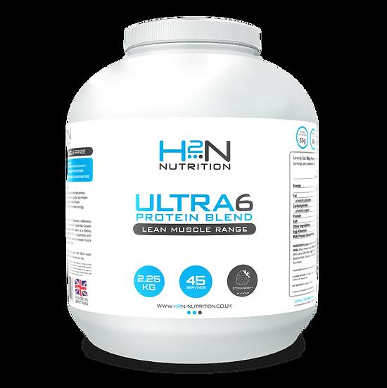 Ultra 6 Slow Release Protein Blend 2.25kg