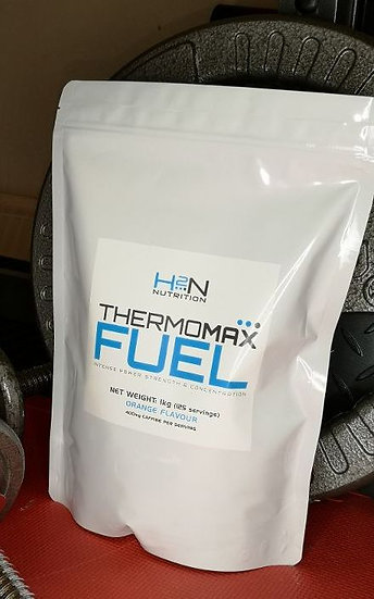 H2N Nutrition Thermomax Fuel Preworkout (1kg pouch = 125 servings!!)
