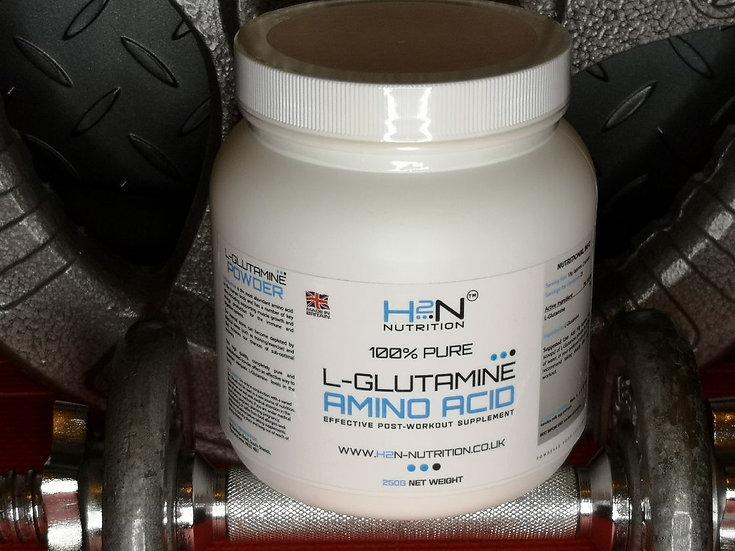 100% Pure L-Glutamine Amino Acid 250g