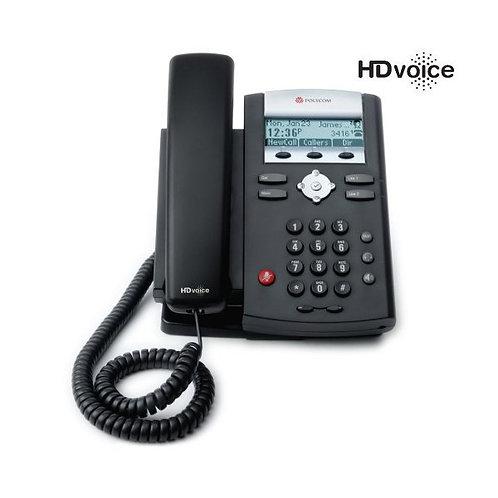 Polycom SoundPoint IP 335 2-line SIP Desktop Phone