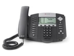 Polycom SoundPoint IP 650 6-line IP Phone HD Voice Inc PSU
