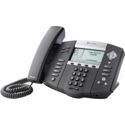 Polycom SoundPoint IP 550 SIP 4 line IP Desktop Phone HD voice Inc PSU