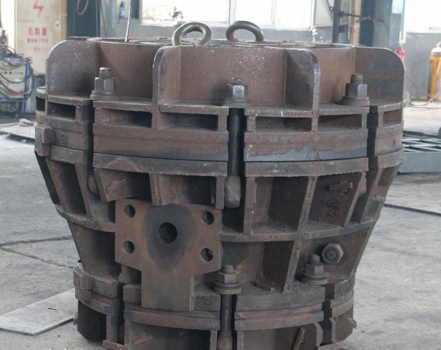 Rubber Cone Fender Mould