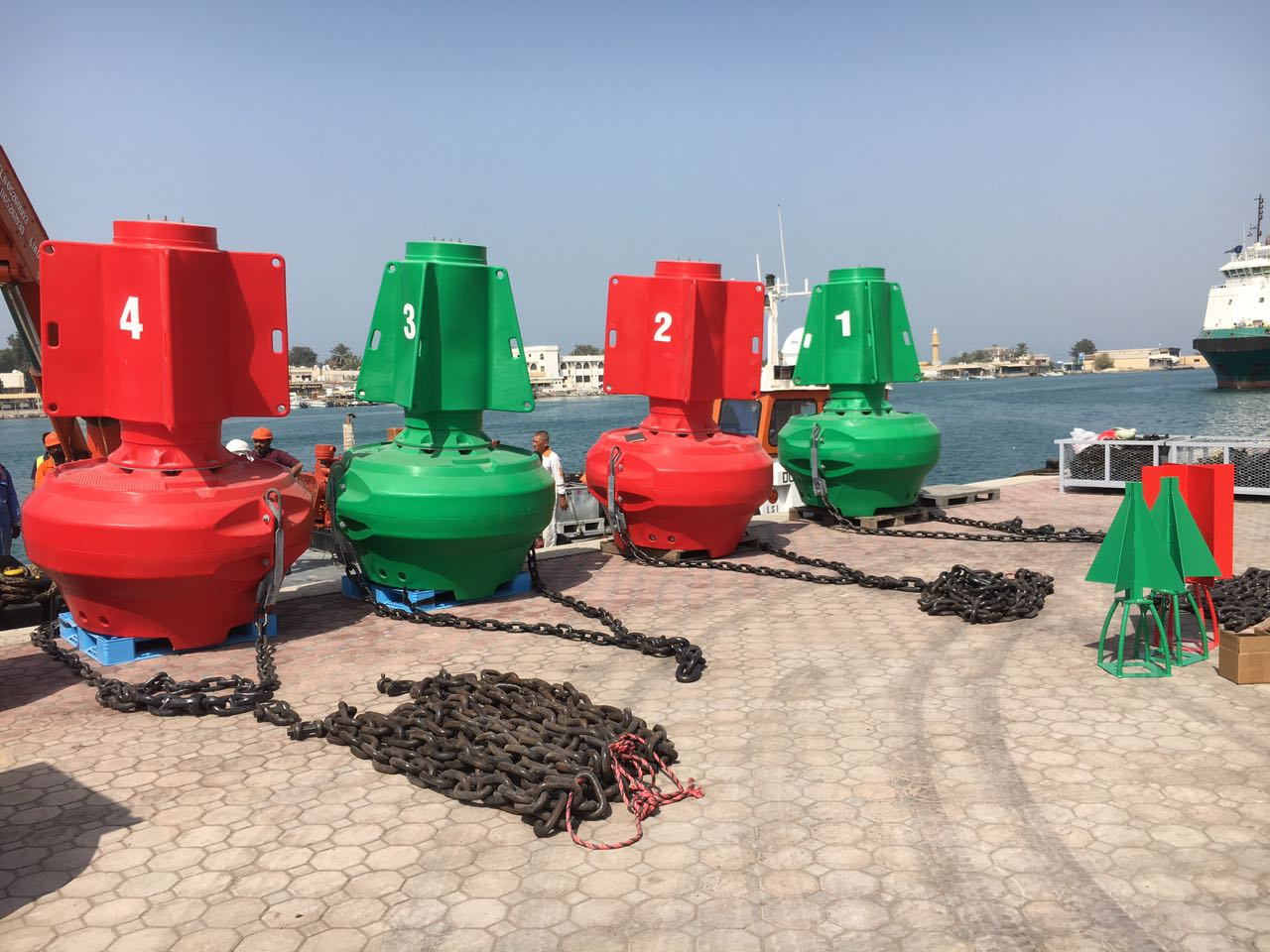 High Visibility Buoys