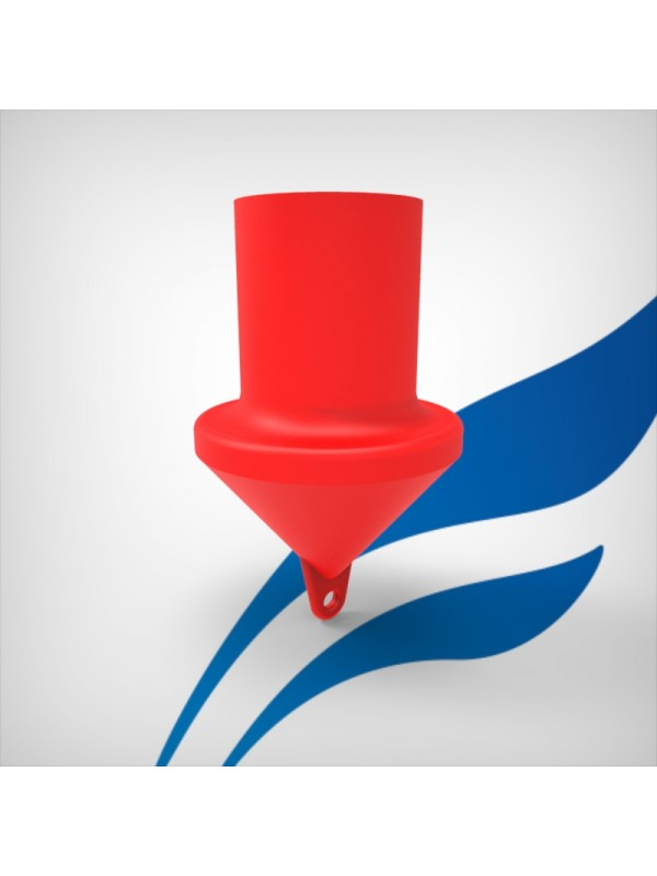 cylindrical-marker-buoy - red