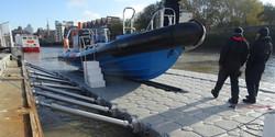 Service Platform Boat