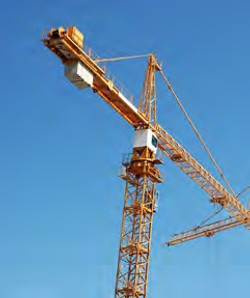 Crane marking obstruction lights