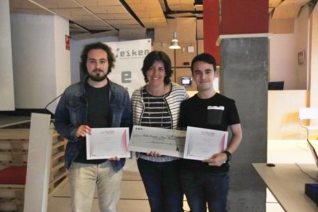 Ganadores BBK Fundazioa Eiken Talent