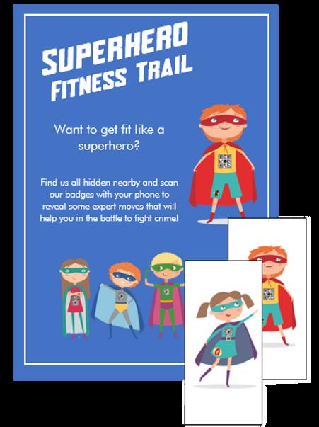 Superhero Fitness Trail