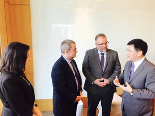 台灣智庫與美國樹城州立大學簽署合作協議書