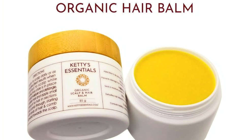 Organic Hair & Scalp Balm