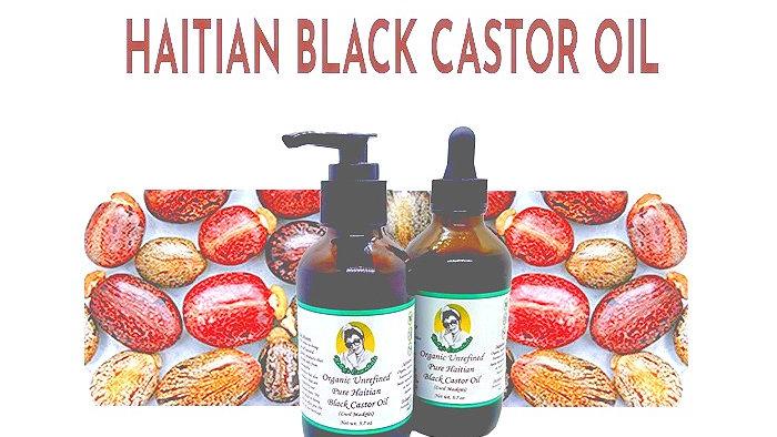 Organic Haitian Black Castor Oil
