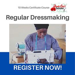 10 Weeks Regular Dressmaking