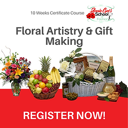 10 Weeks Floral Artistry & Gift Making