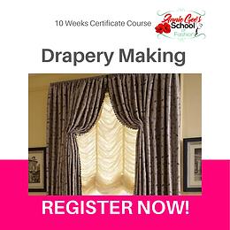 10 Weeks Regular Drapery Course