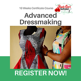 10 Weeks Advanced Dressmaking Course