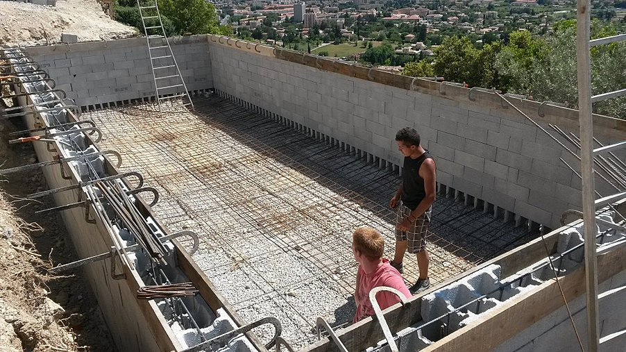 Photos piscines for Construction piscine 22