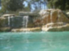 Le magicien d ' eau spécialiste de cascades de piscines