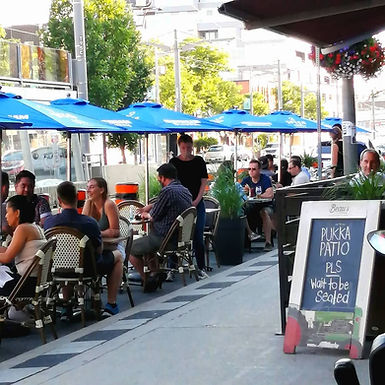 CafeTO Patio Launch