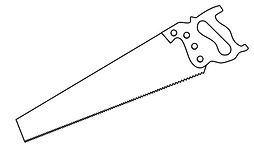 drawing-of-a-hand-saw-free-clip-art-bQL0