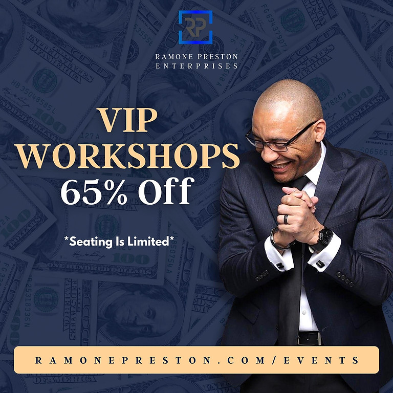VIP Business Workshop - How To Start & Structure Your Holding Company