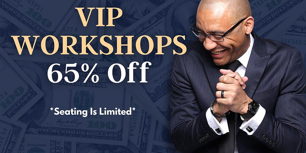 VIP Financial Workshop - The Power of Quickbooks, Accounting, Tax Strategies, & Financial Literacy