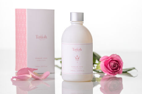 TOFFISH damask rose bubble bath