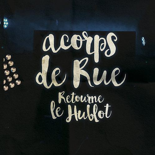 Retourne le Hublot - (CD LIVE Pochette Carton)