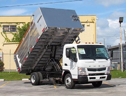 2020 Mitsubishi FE140Gas 14' Aluminum Landscape Dump Truck