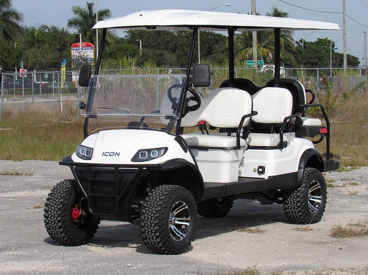 ICON EV i60L 6 passenger electric golf cart*