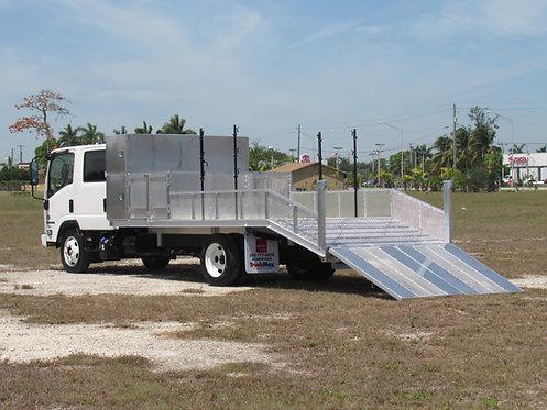 2022 Isuzu NPR-XD Crew Cab Aluminum Dovetail Flatbed