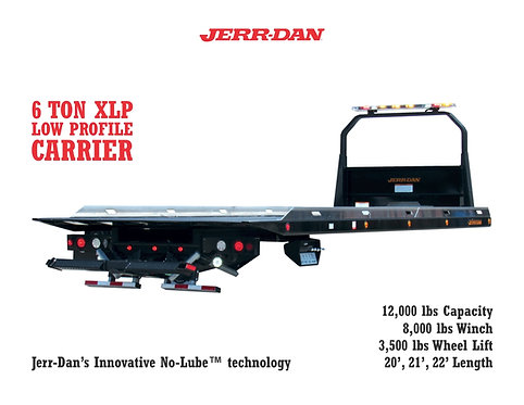 Jerr-Dan 6-Ton Low Profile Carrier Body
