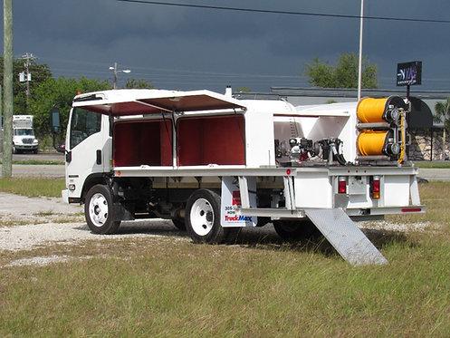 2021 Isuzu NPR-HD (GAS) 14' Aluminum Lawn Sprayer Truck