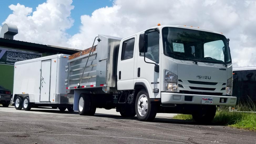 Truck_Trailer_Mower and Equipment Bundle 01