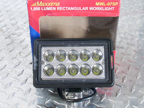 Tow Truck LED Rectangular Work Lights - Maxxima