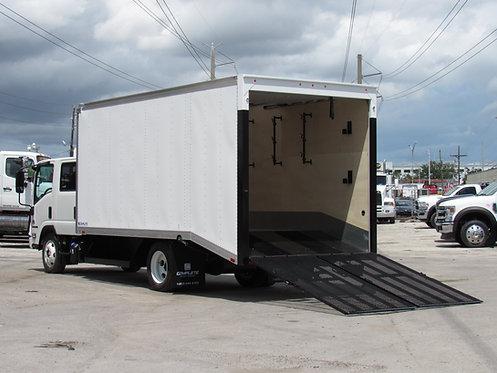 2020 Isuzu NPR-XD Crew Cab Vanscaper Truck