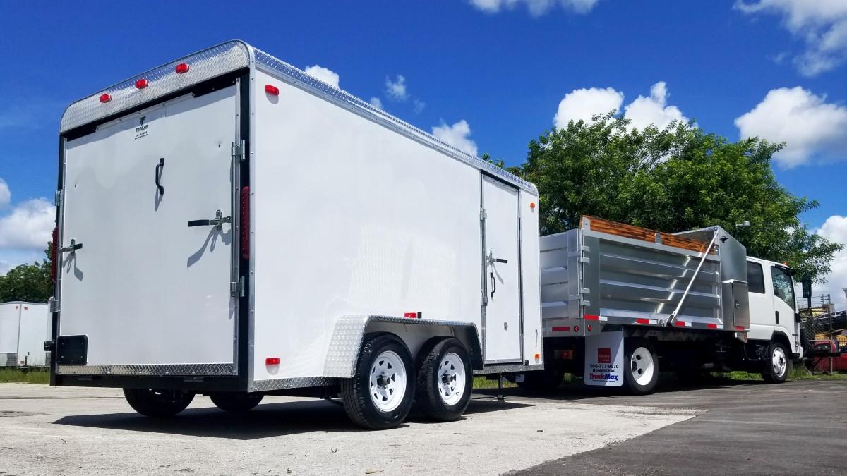 Truck_Trailer_Mower and Equipment Bundle 03