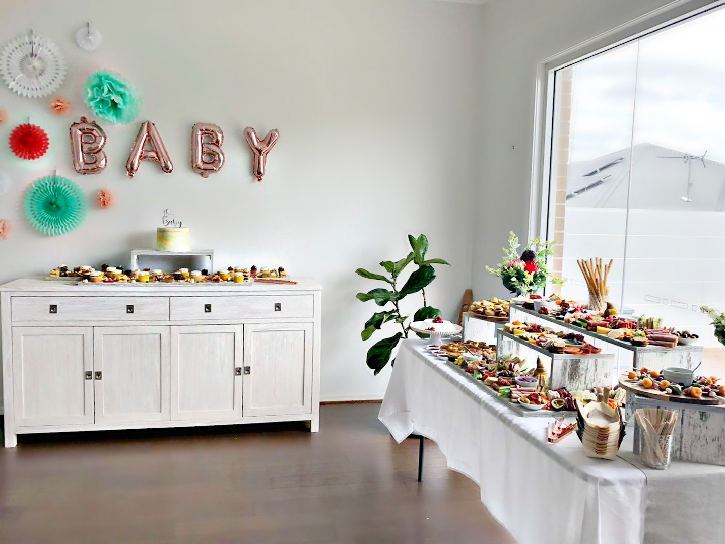 A Baby Shower Set-up