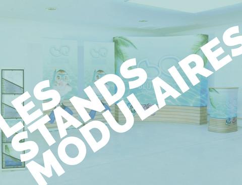 Stand de petites surfaces totalement modulables