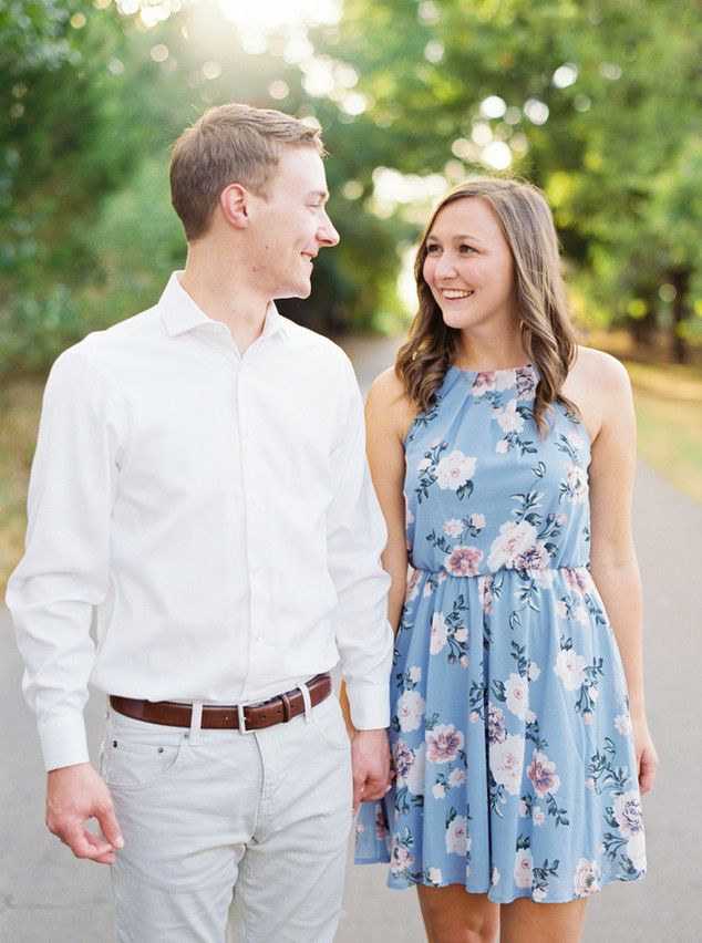 CALEB + ADALINE, GRAPEVINE FILM ENGAGEMENT SESSION