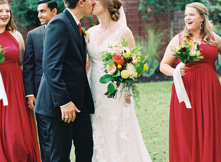 URBAN ROMANTIC WEDDING FEATURED ON CARATS AND CAKE