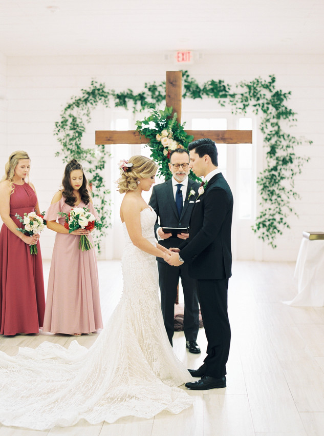 TEXAS WINTER WEDDING AT THE NEST