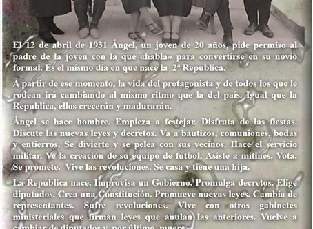 Prólogo de la novela «Gente de orden. Historia de una familia 1931-1936» por Enrique Galé