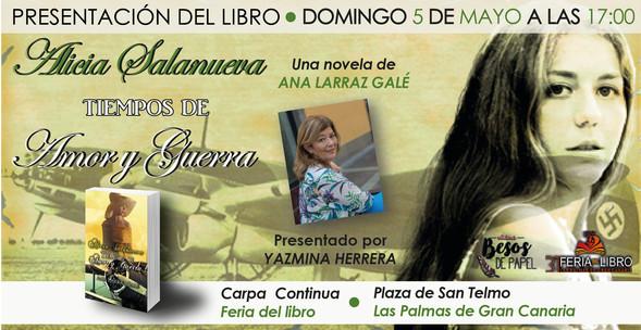 Presentacion en Feria del libro