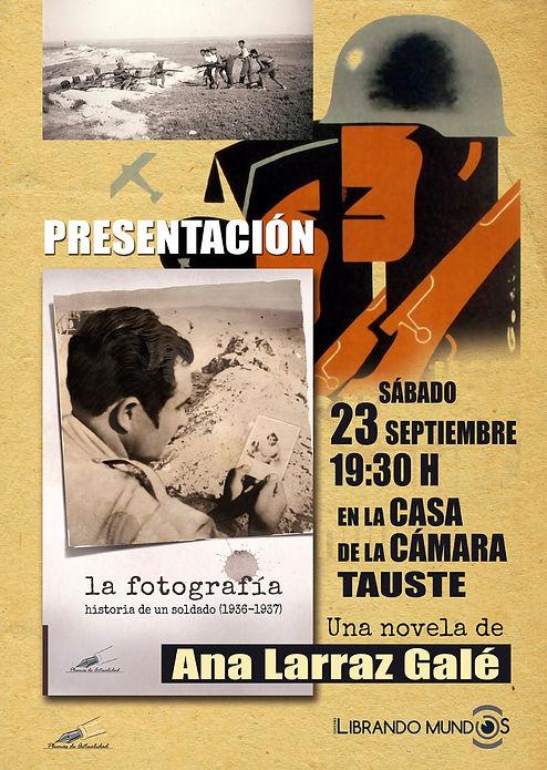 presentación tauste Ana Larraz