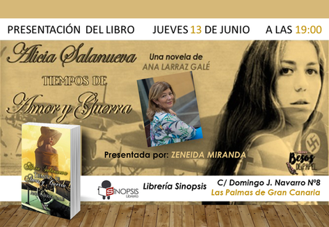 Presentación libreria Sinopsis