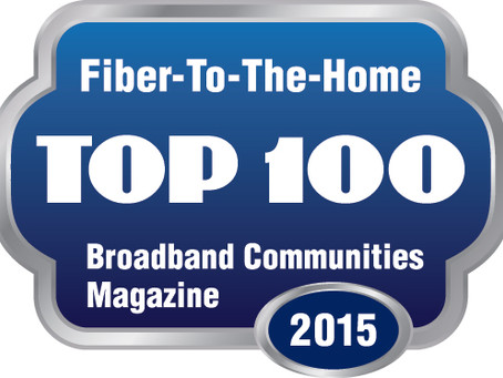 FOR IMMEDIATE RELEASE: Millennium Communications Group Inc. Named Top 100 FTTH Company for the third