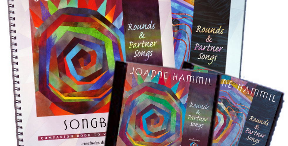 Rounds & Partner Songs Vol. 1 & 2 - CDs & Songbooks Bundle