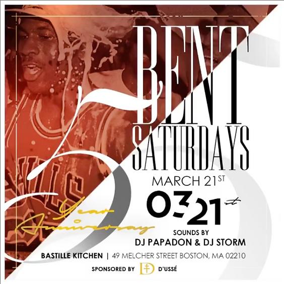 BENT Saturdays 5 Year Anniversary